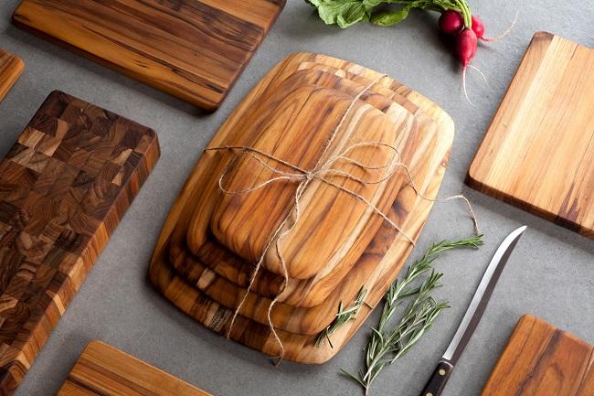 Các loại thớt gỗ phổ biến hiện nay
