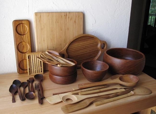 Cách vệ sinh và bảo quản đồ dùng nhà bếp bằng gỗ