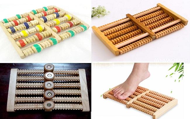 những tác dụng tuyệt vời của dụng cụ massage chân bằng gỗ