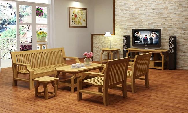 Tại sao nên sử dụng đồ nội thất bằng gỗ?